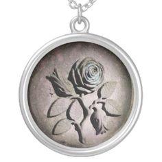 The Sandstone Rose Pendant