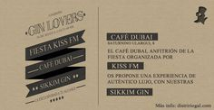 @SikkimGin  en la Fiesta Kiss FM del Café Dubai # Logroño #ginlovers
