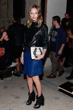 Kate Bosworth at Proenza Schouler Spring 2013