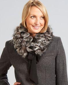 Silver Fox and Rex Rabbit Scarf - Natural : Fox Fur Scarves Fur Scarves, Cozy Clothes, Fur Accessories, Rex Rabbit, Fur Blanket, Fox Fur, Rabbits, Natural, Silver