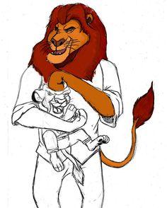 WiP - What if (Lion King)  #draw #drawing #thelionking #lionking #furry #furryart #zootopia