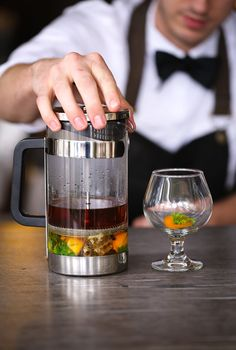 Something has FINALLY replaced coffee... And it's boozy.