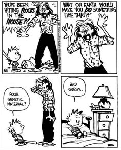 Best Calvin And Hobbes, Calvin Und Hobbes, Calvin And Hobbes Quotes, Calvin And Hobbes Comics, Cartoon Jokes, Funny Cartoons, Funny Comics, Cool Stuff, Funny Quotes