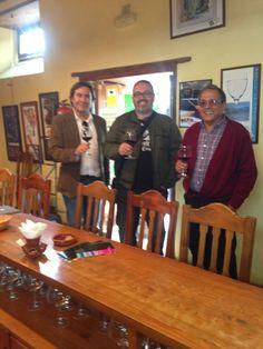Hoy tuvimos la visita de José Frechín de http://tunelcarpiano.net/