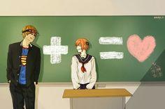 Gintama Okita + Kagura = Oh how cute this couple is Manga, Bleach Couples, Okikagu, Cute Games, Avatar Couple, Tsundere, Cute Anime Couples, Cute Funny Animals, Fire Emblem