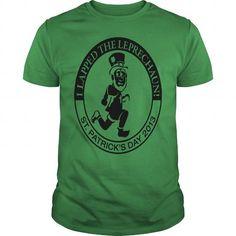 I Love  Men's Saint Patrick's Day 5k Race Shirt - Men's T-Shirt----HWPZVOT Shirts & Tees