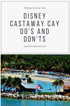 Disney Cruise Castaway Cay Tips and Secrets