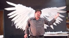Learn the techniques to creating three different types of wings for your Cosplay or Halloween costume. Behind the scenes craziness http://www.facebook.com/ex...