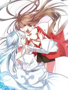 Pandora Hearts. Alice and Alyss/Will of the Abyss.