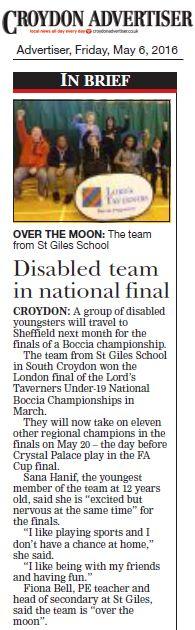 Croydon Advertiser, 6 May 2016