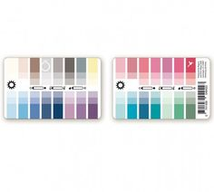12-Seasonal Color Card - Color Me Pretty