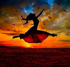 Sometimes it is better to fly when you are dancing