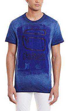 New Men/'s G-Star Raw Mow Stripes Logo Heavy Weight Fashion T-Shirt