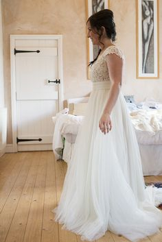 Tulle Dress Bride Bridal Gown Whimsical Romantic Country Tipi Wedding http://jodiecoolingphotography.com/