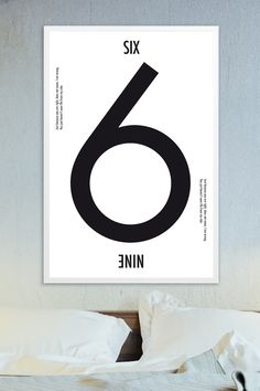 ✖️SIX or NINE white✖️ »Just because you are right, does not mean, I am wrong.  You just haven't seen life from my side.« #artprint #poster #yourownage #typografie #typography #numbers #quotes #zitate #sprüche #hahnemühle #decor #interior #design #graphicdesign #grafikdesign
