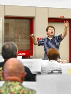 Conductor calls Wind Ensemble musicians 'incredible' - w/photos