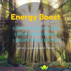 For a refreshing and much-needed energy boost combine these oils in a capsule and take as needed. I know that I will be relying very heavily on my oils for our upcoming move across the country.  #essentialoils