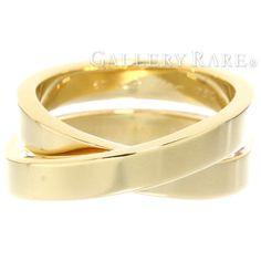 カルティエ リング エスプリ ド パリリング K18YGイエローゴールド リングサイズ57 Cartier 指輪 ジュエリー