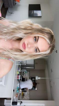 Cute Makeup, Hair Makeup, Hair Inspo, Hair Inspiration, Beauty Make Up, Hair Beauty, New Hair, Your Hair, Tumbrl Girls