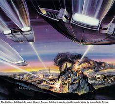 """Battlefield Earth, """"Battle of Edinburgh"""" http://battlefieldearth.com/art-gallery/ @BE_the_Book #AwesomeTeam☮pls share & like♥"""