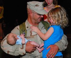 Troops Who Just Returned Home