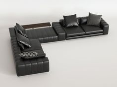 Minotti Freeman Corner Sofa System C computer generated model. Produced by Design Connected. L Sofas, Couches, Corner Sofa And Chair, Living Room Sofa Design, Bedroom Accessories, Sofa Set, Decoration, Home Furniture, Bed Room