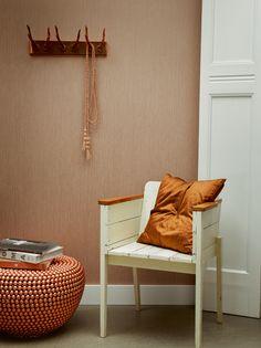 Feel Good - BN Wallcoverings #behang #wallpaper #koper #copper-orange