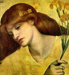 Helena de TRoya por dante Grabriel Rossetti