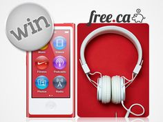 Win an iPod Nano from Free.ca!   *Contest Closes on Dec 21* http://free.ca/contests/win-an-ipod-nano/