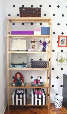 Como Pintar Uma Estante Com Tinta Spray Dourada Office Shelves Ikea