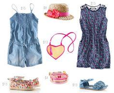 Summer look for girls
