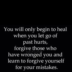 This is true to bad people don't learn to get over their past!
