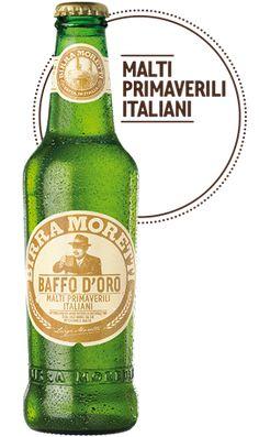 Birra Moretti Baffo d'Oro Malti primaverili