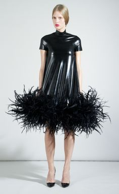 Feather dress S/S13