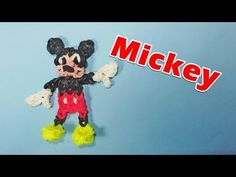Rainbow Loom Charms: MICKEY MOUSE: How To Design / Tutorial (DIY Mommy)