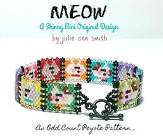 Peyote Patterns, Bracelet Patterns, Julie Ann, Grey Pattern, Digital Pattern, Counting, Black And Grey, Give It To Me