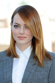 Emma Stone #hair #beauty