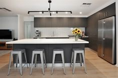 Caesarstone Quartz and Concetto Gallery Source Of Inspiration, Kitchens, Quartz, Gallery, Table, Furniture, Home Decor, Decoration Home, Roof Rack