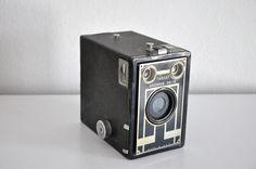 ON SALE Vintage Target Brownie Six-16 Box Camera 1940s