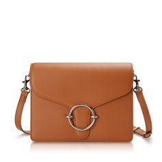 400ede9235d HALO Crossbody Bag - Tan | Hieleven Leather Bags for Women