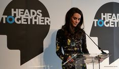 Kate Middleton delivers her speech