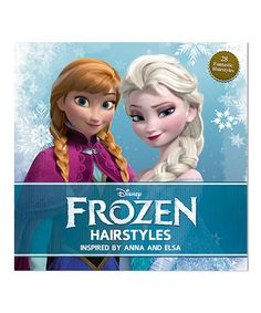 Look what I found on #zulily! Frozen Hairstyle Hardcover by Frozen #zulilyfinds