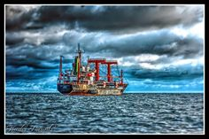 OLD SHIP by hendra.poerwita