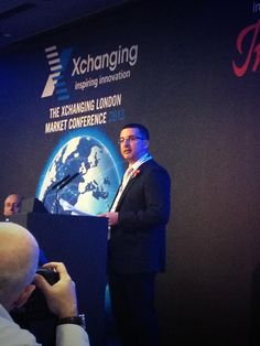 Max Pell welcomes delegates to the Xchanging London Market Conference 2013 #XLMC