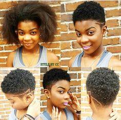 Cute haircuts natural....