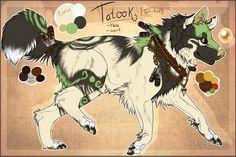 ~ Tatook Sheet Ref ~ by SillyTheWolf.deviantart.com on @deviantART