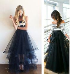 Tenue de Fête : Couture Facile Plusieurs Modèles de Jupe Tulle Bettinael.Passion.Couture.Made in france