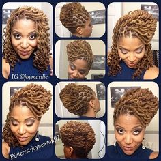 .@naturalhairdoescare | Beautiful locs @joymarilie #naturalhairdoescare #colorcodefriday #naturallycu... | Webstagram