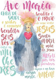 Amém 🙏 Divine Mother, Mother Mary, Catholic Art, Catholic Saints, Mary Magdalene And Jesus, Catholic Wallpaper, Mama Mary, Holy Rosary, Blessed Virgin Mary