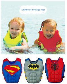 [Visit to Buy] Baby life Vest Jacket 2-6 Years Child Swim Trainer Buoyancy Swimsuit float Piscine Swimming Pool Accessories float Piscine  #Advertisement